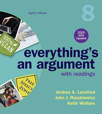 9781319362379-1319362370-Everything's An Argument with Readings, 2020 APA Update