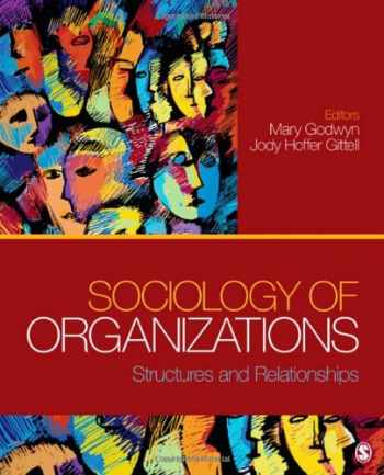 9781412991957-1412991951-Sociology of Organizations: Structures and Relationships