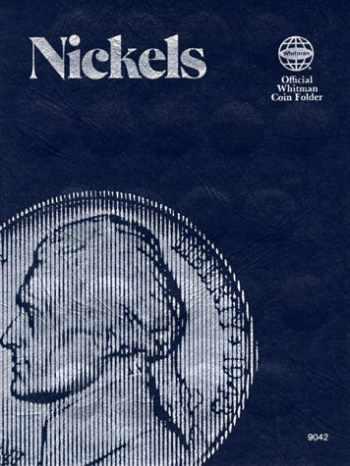 9780307090423-0307090426-Coin Folders Nickels: Plain (Official Whitman Coin Folder)
