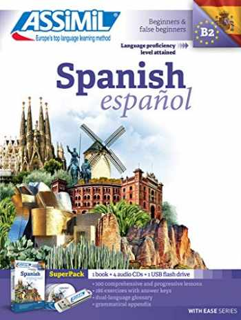 9782700581065-2700581067-Assimil Super Pack - Spanish 2017 Bk USB (With Easy) (English and Spanish Edition)