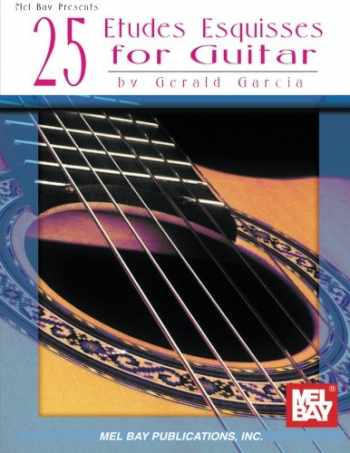 9780786604074-0786604077-25 Etudes Esquisses for Guitar (Editiones Classicae)