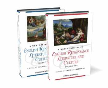 9781405187626-140518762X-A New Companion to English Renaissance Literature and Culture (Blackwell Companions to Literature and Culture) (2 Volume Set)