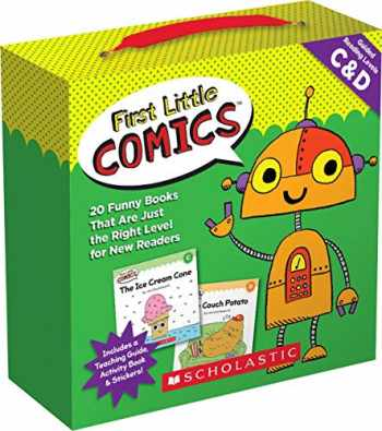 9781338180275-1338180274-First Little Comics Parent Pack: Levels C & D: 20 Funny Books That Are Just the Right Level for New Readers
