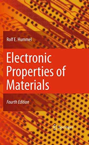9781441981639-1441981632-Electronic Properties of Materials