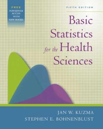9780072844030-0072844035-Basic Statistics for the Health Sciences