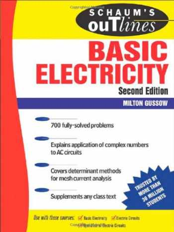 9780071474986-0071474986-Schaum's Outline of Basic Electricity, 2nd edition (Schaum's Outline Series)