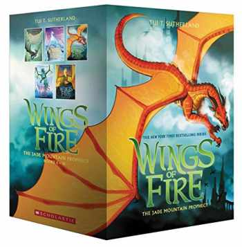 9781338598896-1338598899-Wings of Fire Box Set, The Jade Mountain Prophecy (Books 6-10)