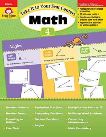 9781609637835-1609637836-Evan-Moor Common Core Math Centers, Grade 4 (Take It to Your Seat Math Centers)