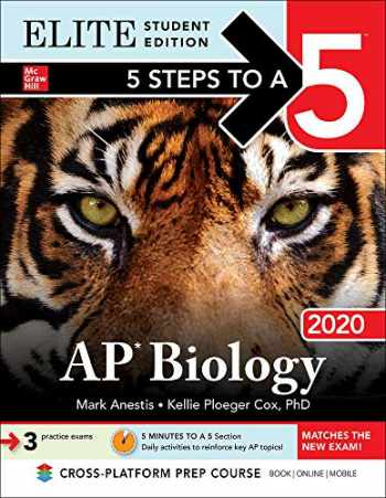 9781260455007-1260455009-5 Steps to a 5: AP Biology 2020 Elite Student Edition (5 Steps to a 5 AP Biology Elite)