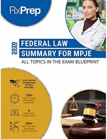 9780999192283-0999192280-RxPrep Federal Law Summary for MPJE