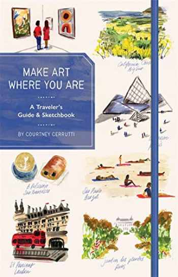 9781419741432-1419741438-Make Art Where You Are (Guided Sketchbook): A Travel Sketchbook and Guide