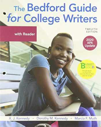 9781319368180-1319368182-Loose-leaf Version for The Bedford Guide for College Writers with Reader, 2020 APA Update