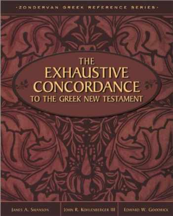 9780310410300-0310410304-Exhaustive Concordance to the Greek New Testament, The