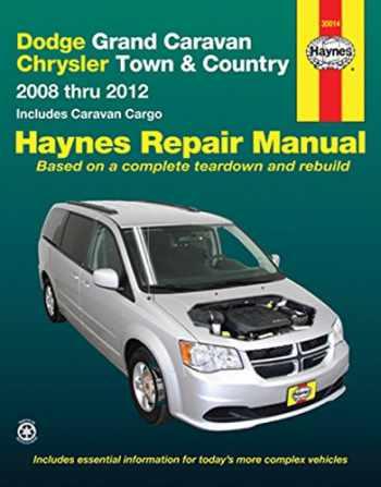 9781620920442-1620920441-Dodge Grand Caravan & Chrysler Town & Country 2008-2012 Repair Manual (Haynes Repair Manual)