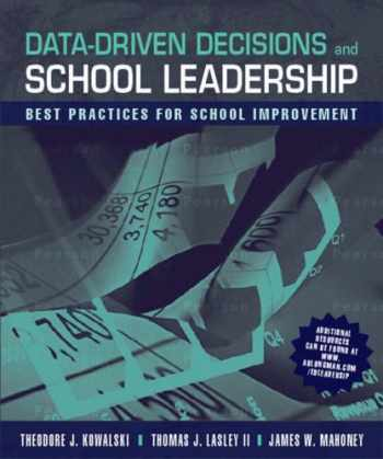 9780205496686-0205496687-Data-Driven Decisions and School Leadership: Best Practices for School Improvement
