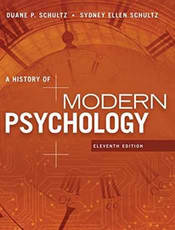 9781305630048-1305630041-A History of Modern Psychology (MindTap Course List)