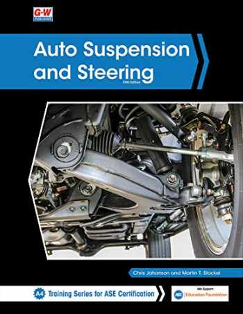 9781645640790-1645640795-Auto Suspension and Steering (Training Series for Ase Certification A4)