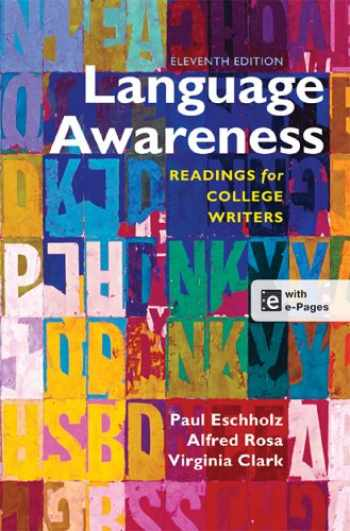 9781457610783-1457610787-Language Awareness: Readings for College Writers