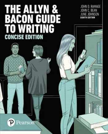 9780134407654-0134407652-The Allyn & Bacon Guide to Writing, Concise Edition (8th Edition)