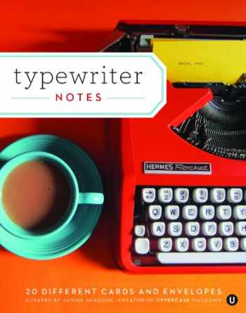 9781452122175-1452122172-Typewriter Notes: 20 Different Cards & Envelopes (Thank You Cards Typewriter, Blank Notecards)