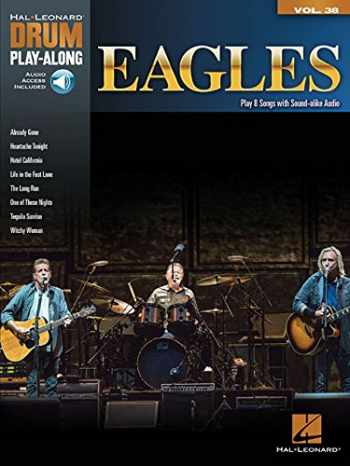 9781495015922-1495015920-Eagles: Drum Play-Along Volume 38