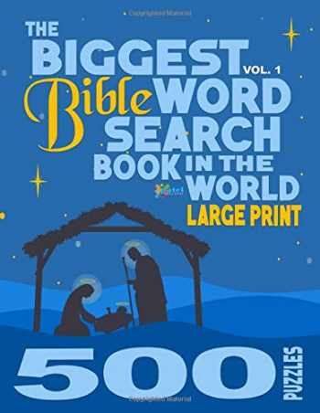 9781974533909-1974533905-The Biggest Bible Word Search Book in the World (LARGE PRINT): 500 Puzzles