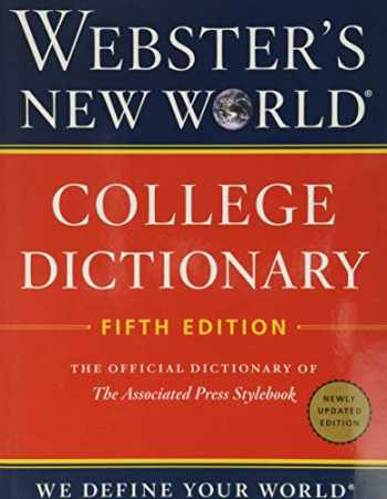 9780358126614-0358126614-Webster's New World College Dictionary, Fifth Edition