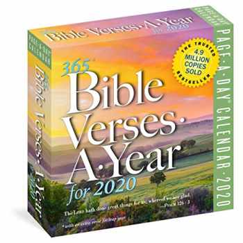 9781523506132-152350613X-365 Bible Verses-A-Year Page-A-Day Calendar 2020