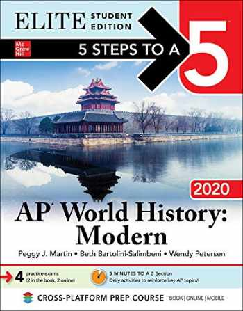 9781260454659-1260454657-5 Steps to a 5: AP World History: Modern 2020 Elite Student Edition