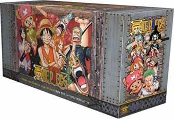 9781421590523-1421590522-One Piece Box Set 3: Thriller Bark to New World, Volumes 47-70 (3)