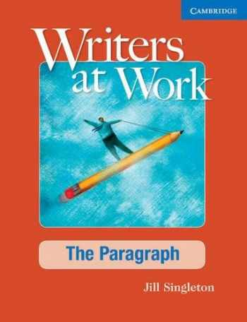 9780521545228-0521545226-Writers at Work: The Paragraph