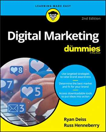 9781119660484-1119660483-Digital Marketing For Dummies, 2nd Edition (For Dummies (Business & Personal Finance))
