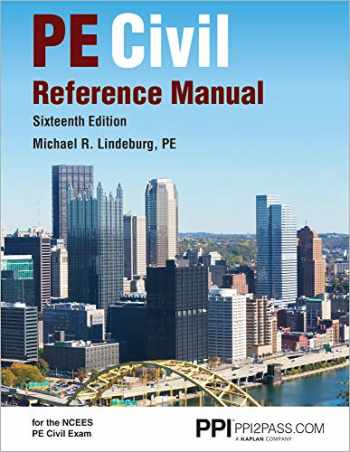 9781591265702-1591265703-PPI PE Civil Reference Manual, 16th Edition (Hardcover) – Comprehensive Reference Manual for the NCEES PE Civil Exam