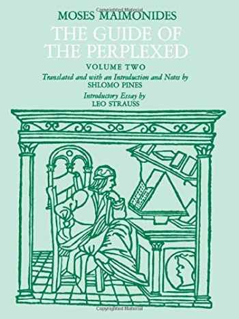 9780226502311-0226502317-The Guide of the Perplexed, Vol. 2