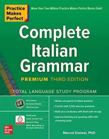 9781260463194-1260463192-Practice Makes Perfect: Complete Italian Grammar, Premium Third Edition