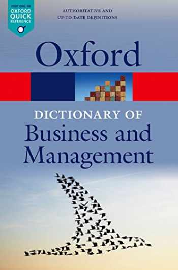 9780199684984-0199684987-A Dictionary of Business and Management (Oxford Quick Reference)