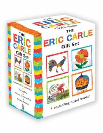 9781442488854-1442488859-The Eric Carle Gift Set: The Tiny Seed; Pancakes, Pancakes!; A House for Hermit Crab; Rooster's Off to See the World (The World of Eric Carle)