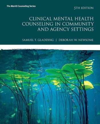 9780134385556-0134385551-Clinical Mental Health Counseling in Community and Agency Settings (5th Edition) (Merrill Counseling)