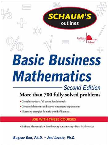 9780071611589-0071611584-Schaum's Outline of Basic Business Mathematics, 2ed (Schaum's Outlines)