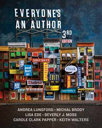 9780393680850-0393680851-Everyone's an Author 3rd Edition