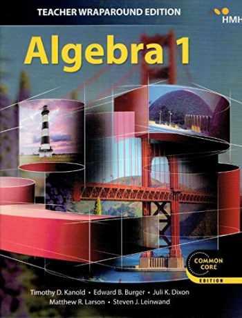 9781328900050-1328900053-Algebra 1, Teacher Wraparound Edition, Common Core Edition, 9781328900050, 1328900053, 2018