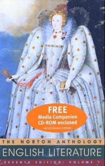 9780393151091-0393151093-The Norton Anthology of English Literature, 7th Ed, Vol. 1 (Packaged with Media Companion)