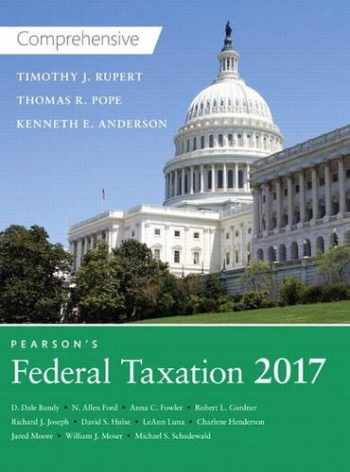 9780134420646-0134420640-Pearson's Federal Taxation 2017 Comprehensive (30th Edition)