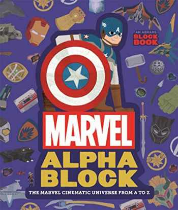9781419735882-1419735888-Marvel Alphablock: The Marvel Cinematic Universe from A to Z (An Abrams Block Book)