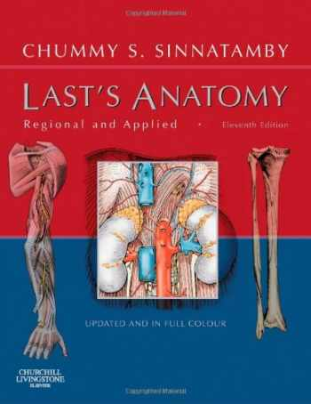 9780443100338-0443100330-Last's Anatomy: Regional and Applied (MRCS Study Guides)