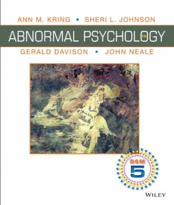 9781118640883-1118640888-Abnormal Psychology, Binder Ready Version: DSM-5 Update