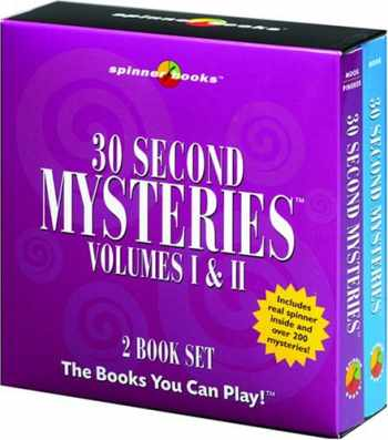 9781575289700-1575289709-30 Second Mysteries: Vol. I & II Slipcase (Spinner Books)
