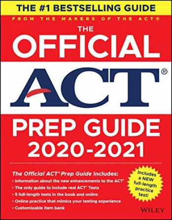 9781119685760-1119685761-The Official ACT Prep Guide 2020 - 2021, (Book + 5 Practice Tests + Bonus Online Content)
