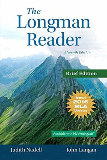 9780134586427-0134586425-Longman Reader, The, Brief Edition, MLA Update Edition (11th Edition)