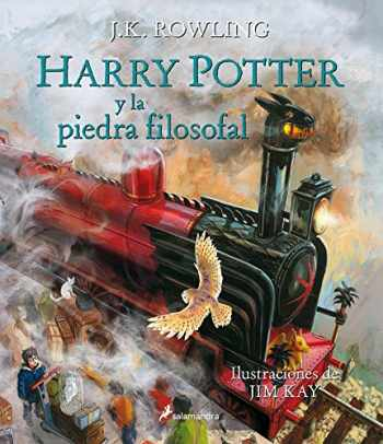 9788498387094-8498387094-Harry Potter y la piedra filosofal. Edición ilustrada / Harry Potter and the Sorcerer's Stone: The Illustrated Edition (Spanish Edition)